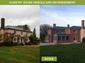 Country House rebuild and refurbishment - New England Building Services